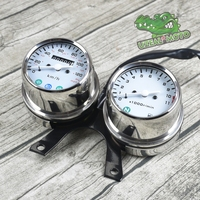 Universal Motorcycle Mechanical odometer high quality speedometer and engine speed instrument with competitive price