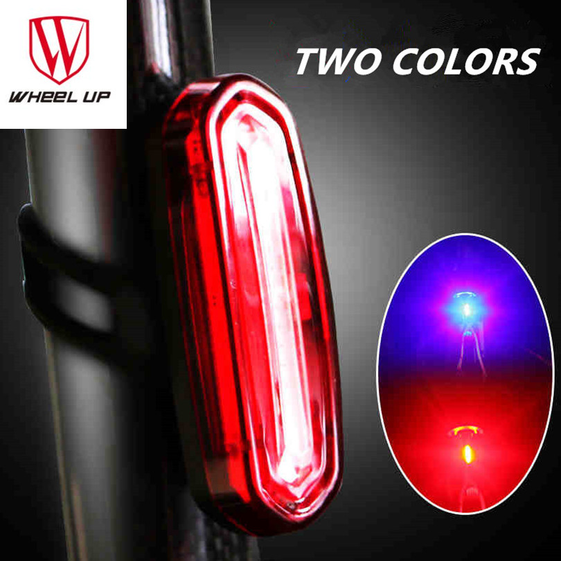 Bicycle Rear Lights Cycling Tail Lamp Warning Lamps USB Rechargeable Waterproof