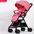 Belecoo bella carrinho de bebê luz guarda-chuva carro choque dobrável carrinho de bb