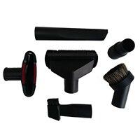 Universal aspirador de pó acessórios kit de limpeza escova bico fenda ferramenta para 32mm & 35mm mangueira padrão 6 pçs|Escovas de limpeza|   -