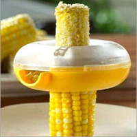Kitchenware Cooking Tools Kits Corn Separator Circle Corn Kernels Splitter Stripped Corn Device Round Corn Planing
