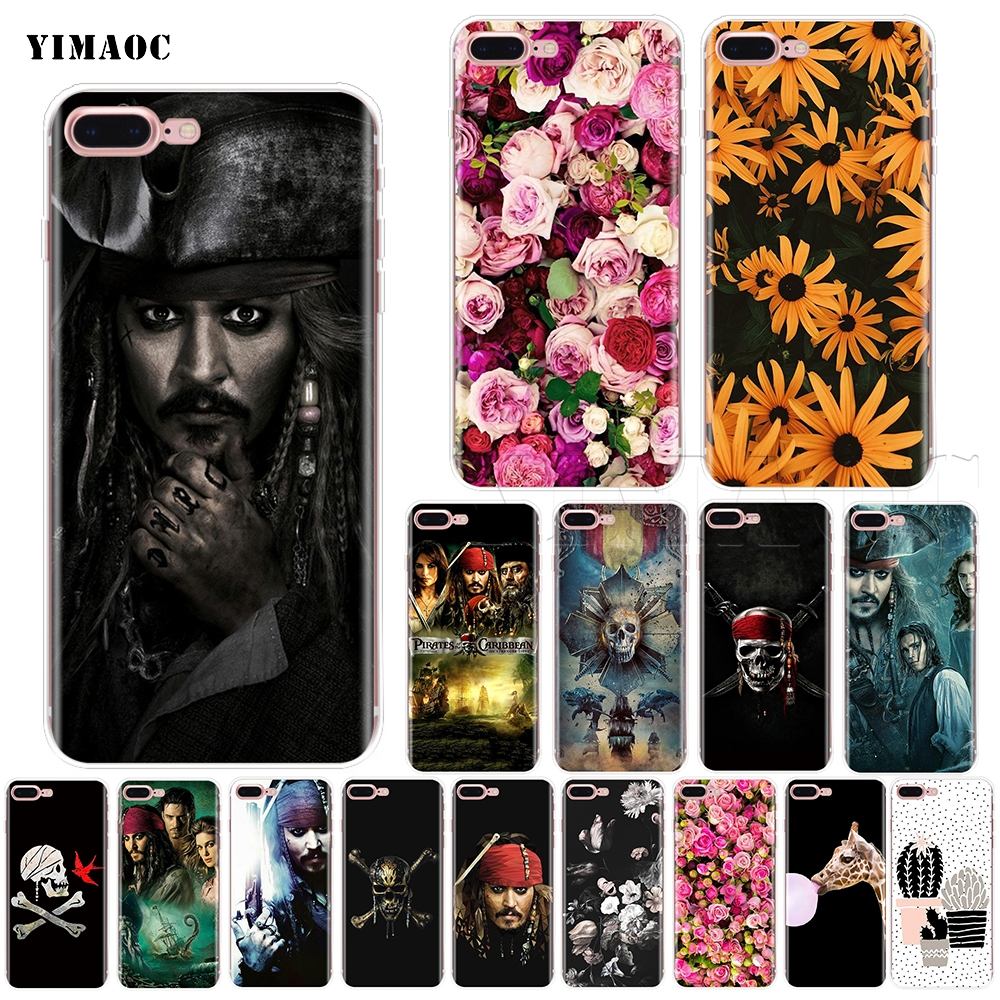 YIMAOC Pirates Of The Caribbean Soft Silicone Case for iPhone 5 5s SE 6 6s 7 8 Plus X