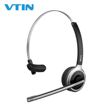 VTIN Professional Bluetooth Wireless Headset for Drivers Hands Free with Built-in Microphone Over Head Earpiece Noise Canceling недорого