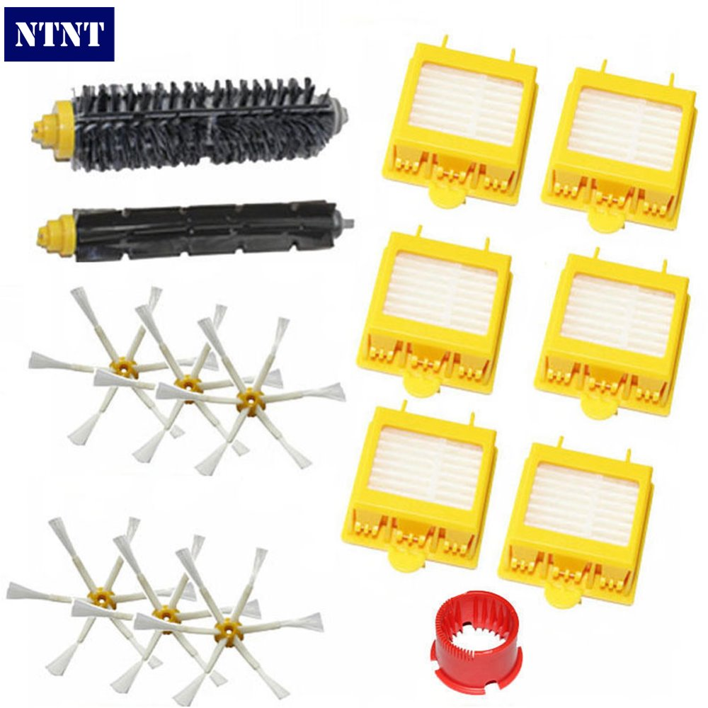 NTNT New For iRobot Roomba 700 Series 760 770 780 Hepa Filter 6 armed Side Brush tool