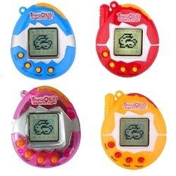 ¡Caliente! Tamagotchi juguetes electrónicos para mascotas de los años 90 nostálgico 49 mascotas en un juguete ciber Virtual divertido Tamagochi