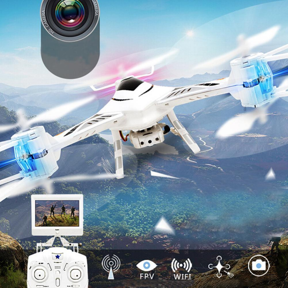 Quadcopter Waterproof Drone 2.4G 6 axis Quadrocopter With RC Helicopter Dron wltoys q222 quadrocopter 2 4g 4ch 6 axis 3d headless mode aircraft drone radio control helicopter rc dron vs x5sw