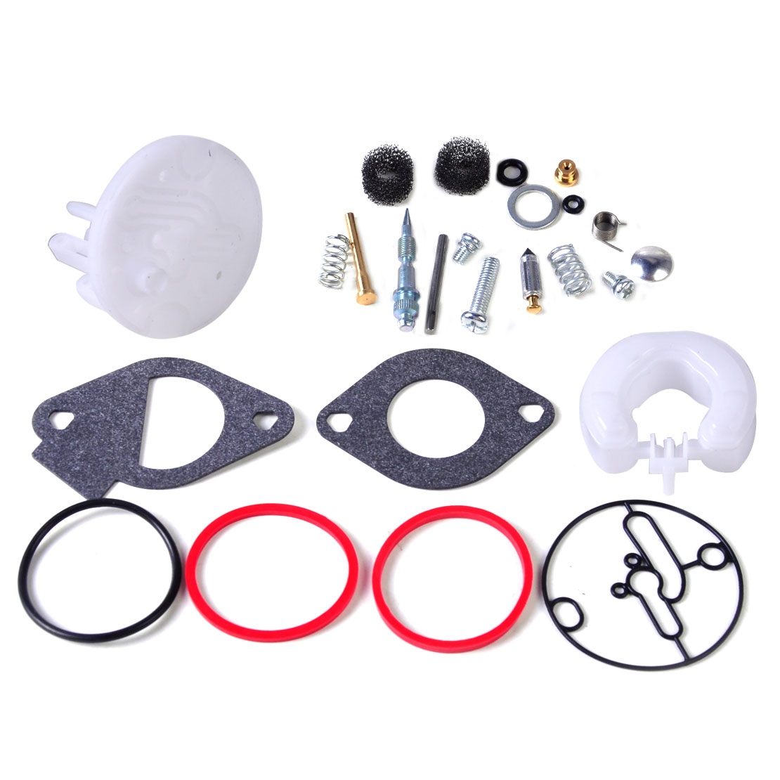 LETAOSK Carburetor Rebuild Repair Kit Fit For Nikki Carb Briggs & Stratton Master Overhaul 796184