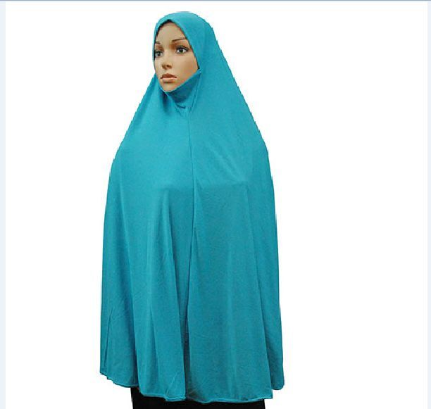Traditional muslim clothes Muslim Long Hijab Arabic Prayer Jilbab Islamic Khimar Women Face cover Niqab