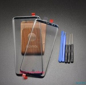 Image 3 - Für Samsung Galaxy S8 S8 plus G950 G955 Frontscheibe LCD Glas Objektiv Outer Glas Reparatur Ersatz Front Glas