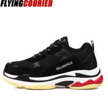 sports shoes 130c5 53823 FlyingCourier Retro Dad Breathable Running shoes instagram dope sneaker  shoes for women and men disruptor triple