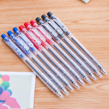100 Pcs Ballpoint Pen Simple Press Ball Pen Wholesale Pens Student Stationery Prize Stationery