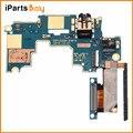 Ipartsbuy para htc one m7/801e/801n mainboard & botão de controle de volume/fone de ouvido jack flex cabo de substituição
