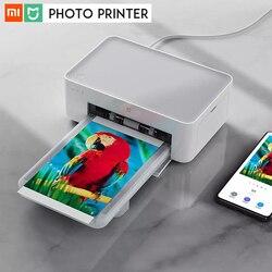 Xiao mi mi jia mi sem fio impressora de fotos sublimação calor para ios android pc