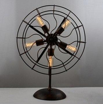 Edison Desk Lamp American country style retro personality ...