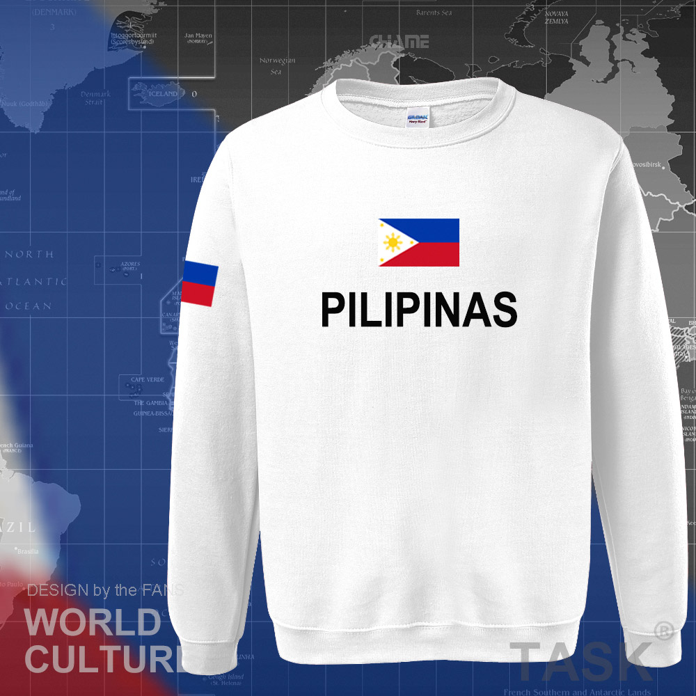 Philippines hoodies men sweatshirt sweat new hip hop streetwear clothing jerseys tracksuit nation Filipino flag PH Pilipinas