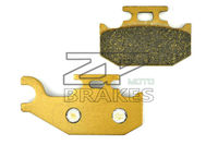 NEW Organic Brake Pads For Rear Left CAN AM SIDE X SIDE Maverick 1000 XXC 2014