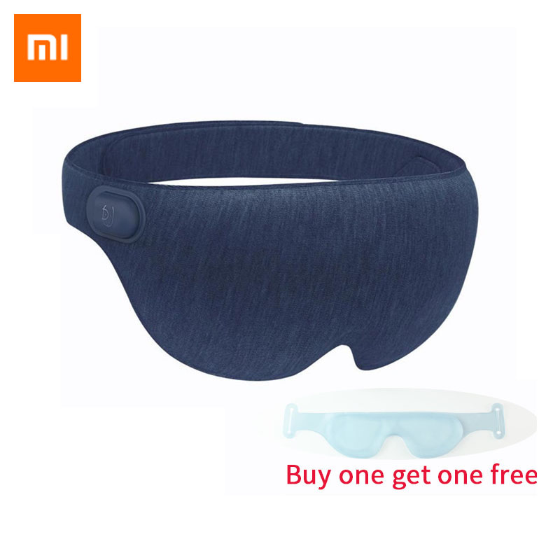 Xiaomi Mijia Ardor 3D Stereoscopic Hot Compress Eye Mask Surround Heating Relieve Fatigue USB Type-C Powered for Work Study Rest цена