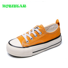 hot deal buy 2019 cute baby canvas shoes red yellow boys casual brand sneakers comfortable girls jeans denim casual shoes non-slip flat shoes