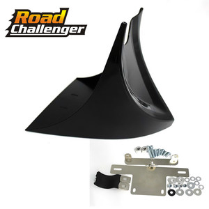 For Harley Fatboy Softail Touring Glide Dyna Chin Lower Front Spoiler Air Dam Fairing Cover(China)