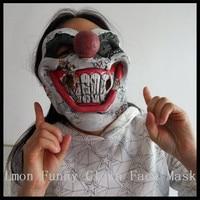 Halloween Party Cosplay Lustige Halloween Latex scary clown maske Narr joker gesicht Maske Kostüm verkleiden Lustige Glückliche Clown Maske