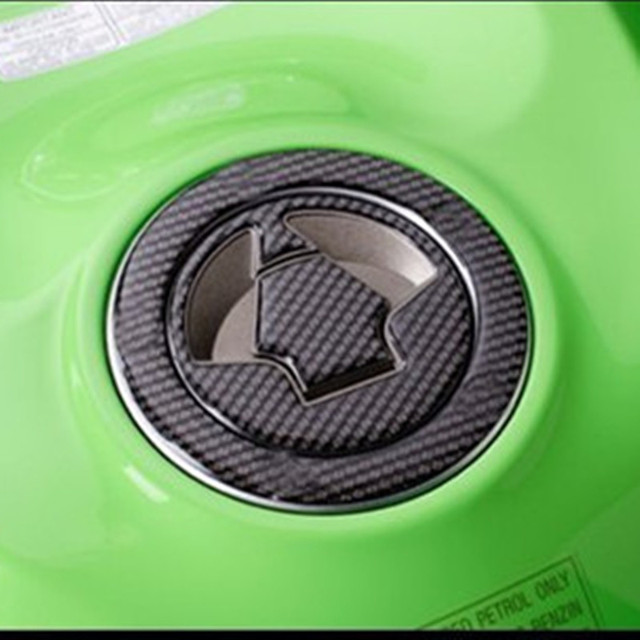 5d Motorcycle Fuel Tank Pad Gas Cap Sticker Protector For Kawasaki