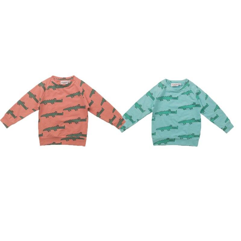 Bébé T-shirt 2019 HUGO Printemps Automne Garçons Vêtements Enfants À Manches Longues Hauts Filles Léopard De Mode Sweat Enfants Causal Tops