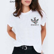 Dracarys Tshirt Women Camiseta Mujer Game of Thrones Daen White T-shirt Summer Harajuku Shirt Mother Dragon Vogue t shirt