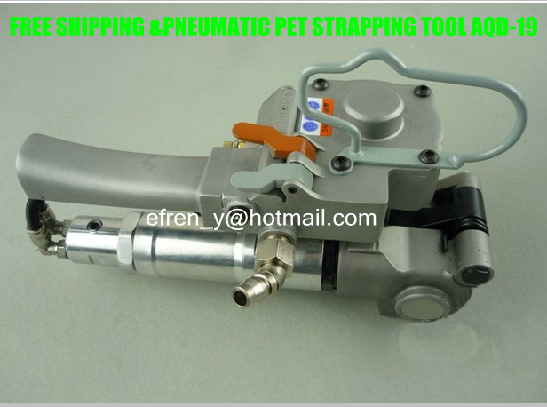 Wholesale AQD-19 Pneumatic PET/PP Tensioning and Friction Welding Strapping Tool,Plastic Strapping Machine for 13-19mm