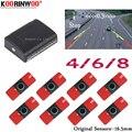 Koorinwoo оригинальные 16 5 мм электромагнитные парктроники парковочные датчики 8/6/4 радары Сигнализация Звуковой сигнал Автомобильный детектор ...