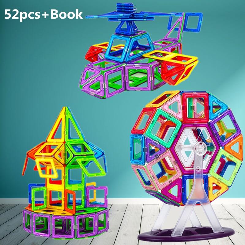 52pcs 3d Diy Building Blocks Model Constructors Ferris