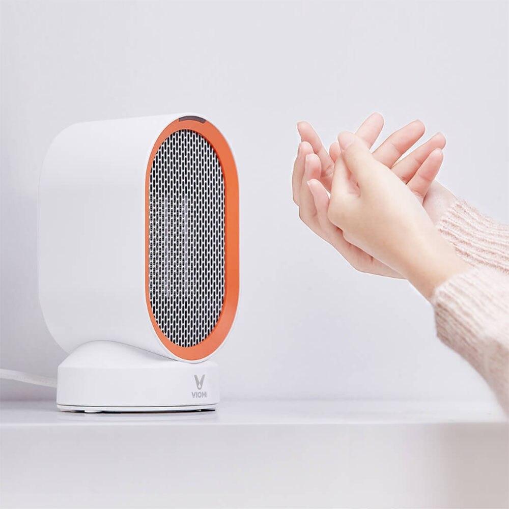 Xiaomi Mijia Yunmi radiateurs électriques de bureau Intelligent à portée de main ventilateur réchauffeur radiateur silencieux économie d'énergie chauffage rapide