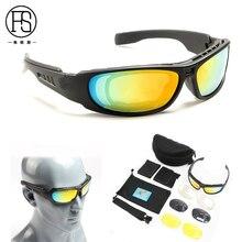 New Daisy C3 Militaire Tactique Sport Lunettes Lunettes de soleil 4 lentilles lunettes de soleil Lunettes de soleil Pêche Escalade Tir Marche iHDdnw