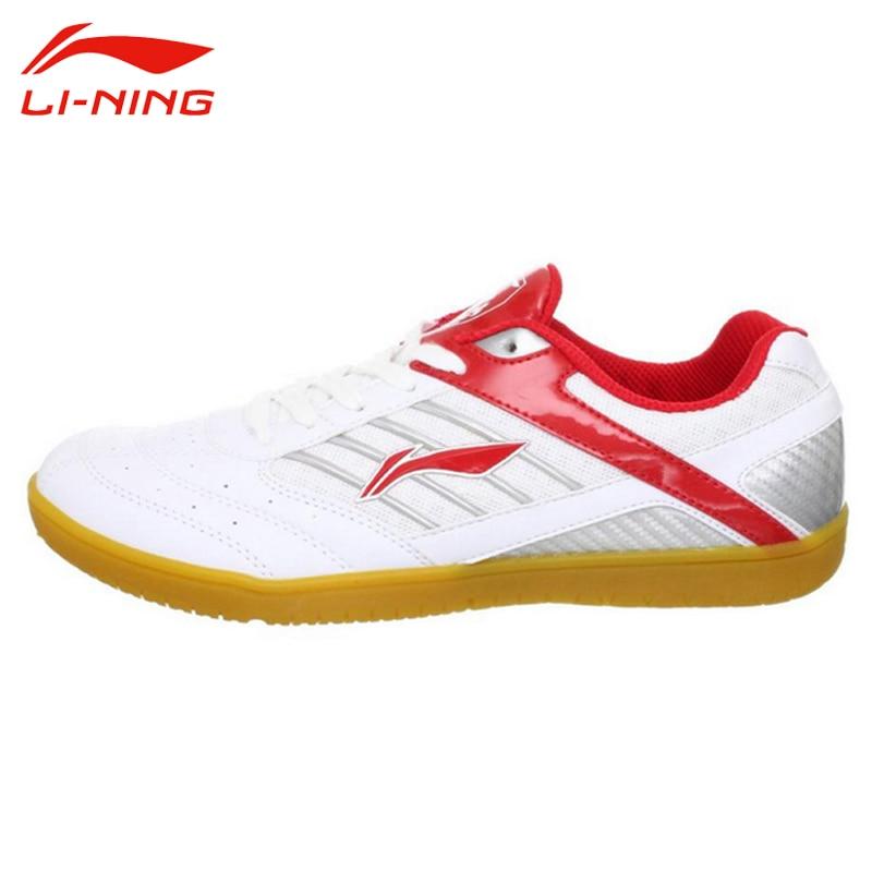 LI-NING Men Table Tennis Shoes Anti-Slip Indoor Training Shoes Li Ning Hard-Wearing Sport Shoes Male Breathable Sneakers APTH001 original li ning men professional basketball shoes