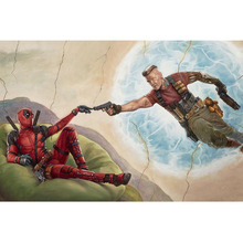 Diy diamond painting Deadpool Diamond Embroidery 5d pictures full mosaic,square Rhinestones Y0977