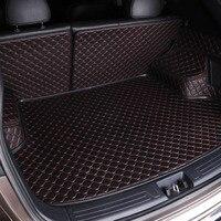 Пользовательские багажник автомобиля Коврики для Nissan Qashqai Примечание Мурано МАРТА Teana Tiida Almera X Trai Juke аксессуары Стайлинг багажника pad