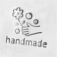 DIY handmade soap paste clay seal, acrylic material customized stamp