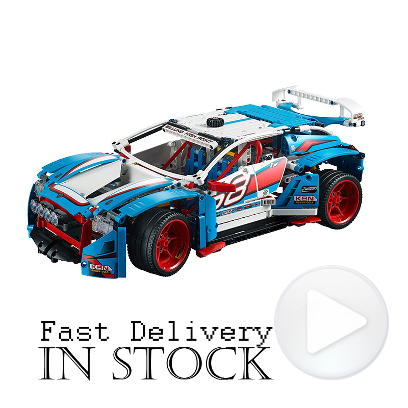LEPIN Techinc Rally car 20077 1085pcs Building Blocks Bricks educational toys for children Christmas gifts brinquedos lepin 20077 genuine technic series the rally car set 42077 building blocks bricks educational funny toys as children gifts