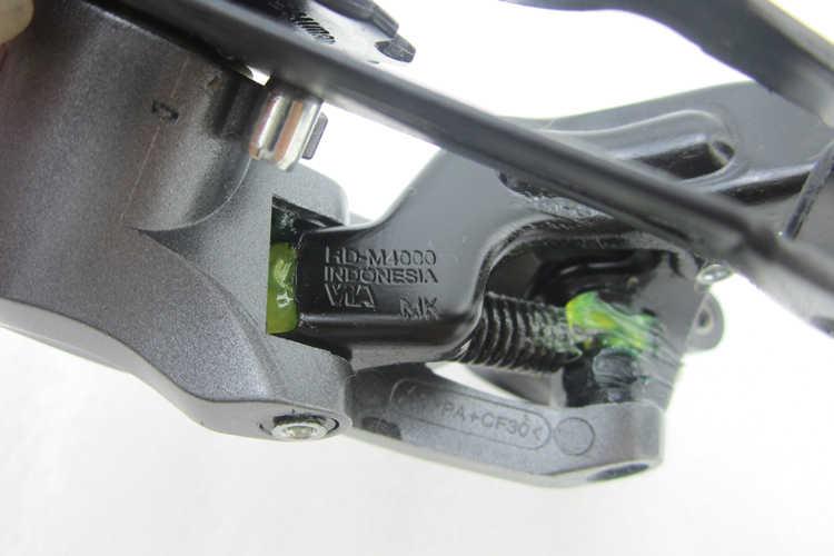 Shimano Alivio RD-M4000 9 скоростной горный велосипед задний переключатель