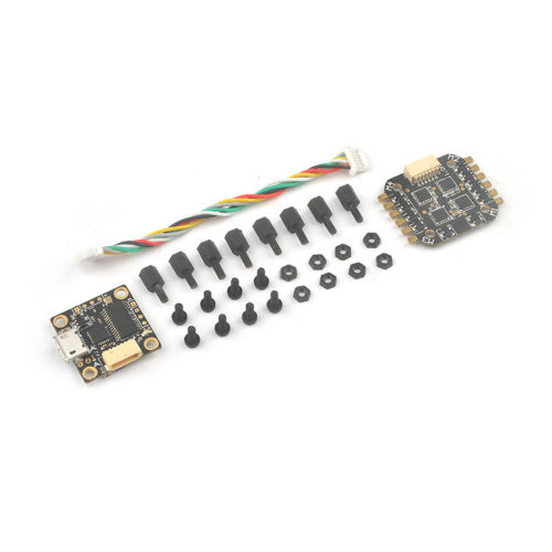 JMT Teeny1S F3 Flight Controller Board Built-in Betaflight OSD + 4 In 1 6A BLHeli_S ESC for 60mm-80mm Mini FPV Quadcopter Drone omnibus f3 betaflight