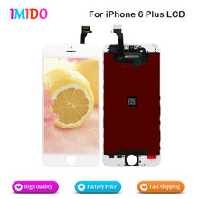 100PCS/LOT Best Quanlity For iPhone 6 Plus LCD Display Digitizer Assembly Pantalla Replacement Fast ship 100pcs lot via dhl high quality brand new lcd display backlight film for iphone 6g 6 plus replacement repair parts