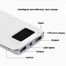 10000mAh Power Bank for iPhone Dual USB Output