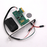 Hohe Qualität Mini PCI-e Desktop PC Fernbedienung 20m Wireless Neu Starten Schalter Drehen Auf/OFF Für Desktop-Computer mini Switcher