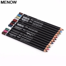 MENOW 12 Pcs/Set Ladies Waterproof Eyeliner Pencil