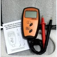 Portable Internal Battery Resistance Impedance Meter Battery Resistance Voltmeter 200V Battery Tester Low Voltage prompt SM8124A