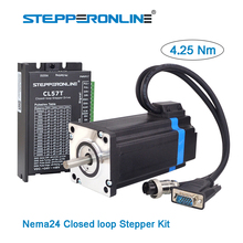 1 Axis Closed loop Stepper Kit 4.25Nm Nema 24 Closed Loop Stepper Motor & Driver/ Servo Motor Kit & 2pcs Extension Cable сетевое зарядное устройство deppa usb type c power delivery 30 вт белый