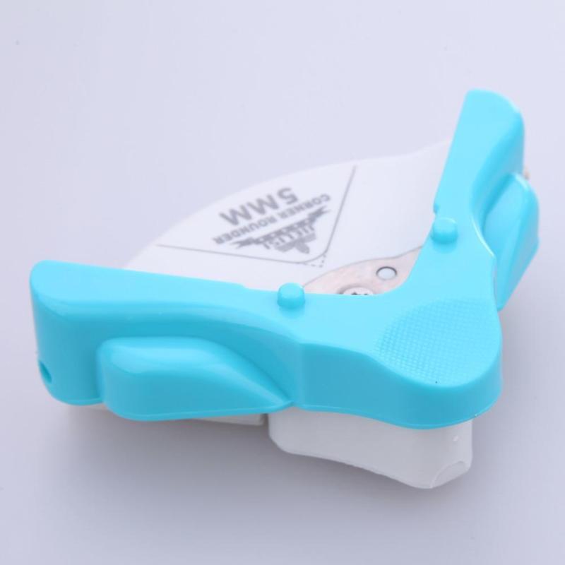 R4 угловой круглый 4 мм бумажный Дырокол карта фото резак инструмент Ремесло Скрапбукинг режущие штампы E5M1