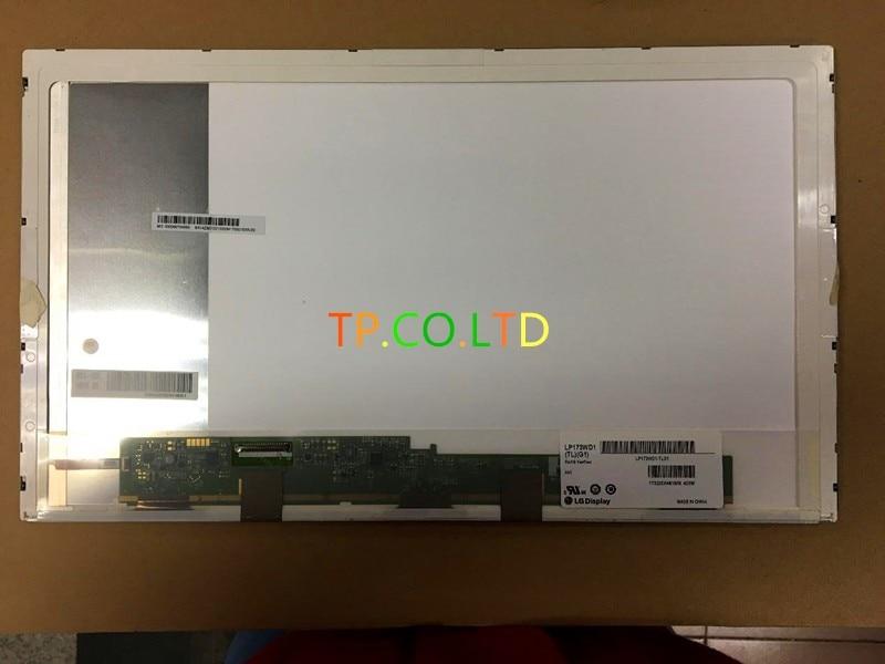 New Original Laptop LCD LED 17 3 Normal Screen Glossy LP173WD1 TL G1 LTN173KT01 02 03