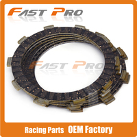 6 Pcs Clutch Plate Disc Set Friction For YAMAHA MT 250 YZF R25 YZF R25A MT320
