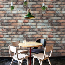 tapety Vintage Brick Wall Papers Home Decor Personalized Vinyl 3D Papel Mural Grey Brown Wallpaper for Walls positano