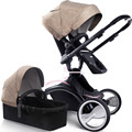 Assento de Carro Do bebê Berço, Estilo Carrinhos de Bebê Berço Portátil, Dobrável Carrinho de Bebê Carrinho de Bebé, Bambino Passeggino 2 Em 1 Carrinho de Bebê